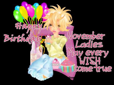 NOVEMBER Happy Birthdays Hapbir10