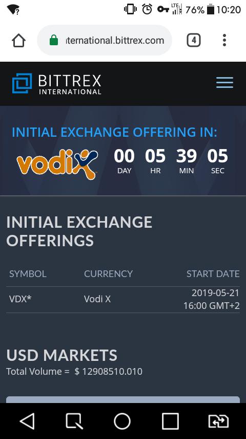 Vodix 1100 tokenów wartych około 15 USD Screen17