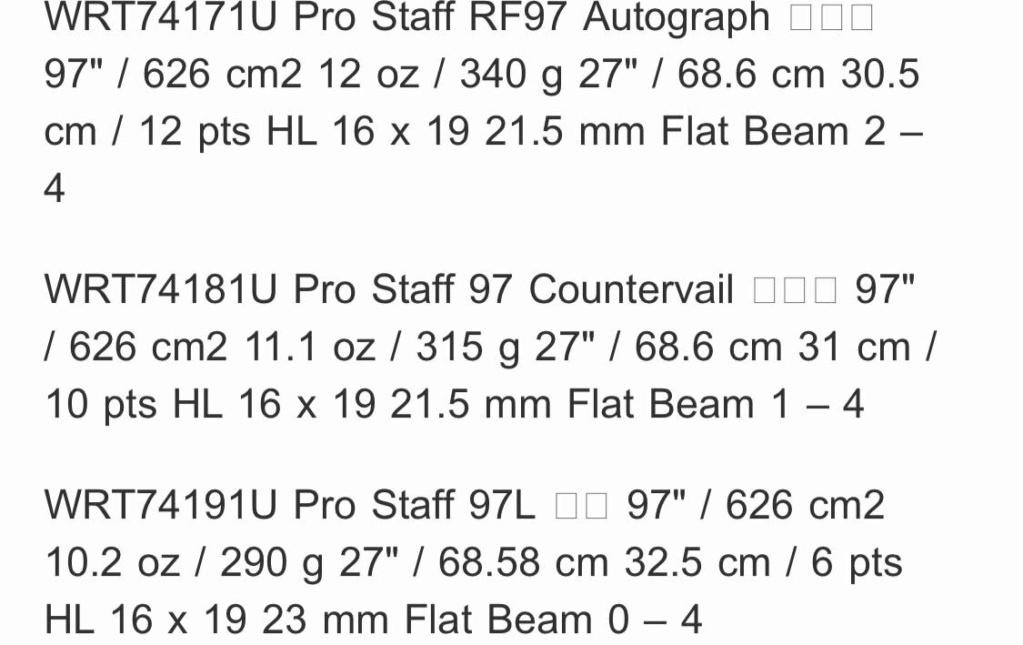 Nuova pro staf bianco/nera di Roger B393e210