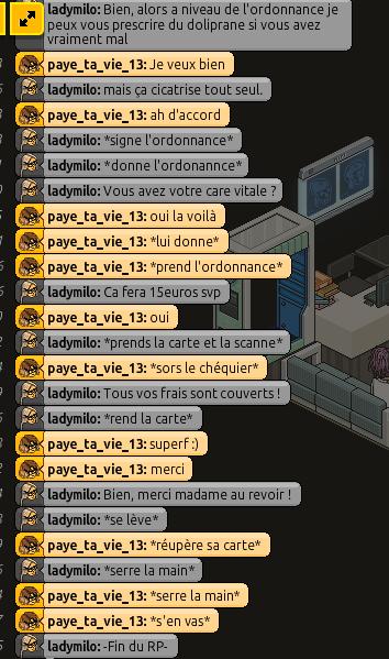 [C.H.U] Rapports d'actions RP de ladymilo Rpb310
