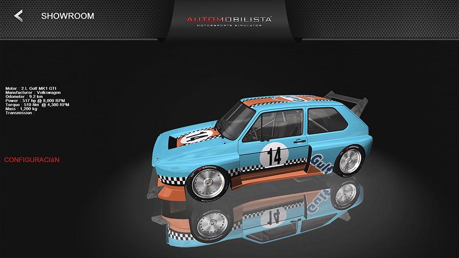 Volkswagen MK1 GTI Gulf10