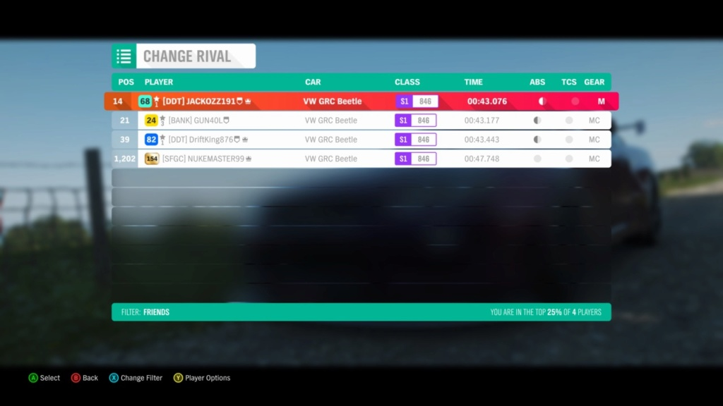 FH4 Time Attack | Cross Country Rivals - Aerodrome Cross Country Circuit Image41