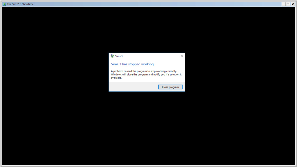 Sims 3 + World Adventures + Showtime with Ultimate Fix crashing during world loading. Screen10