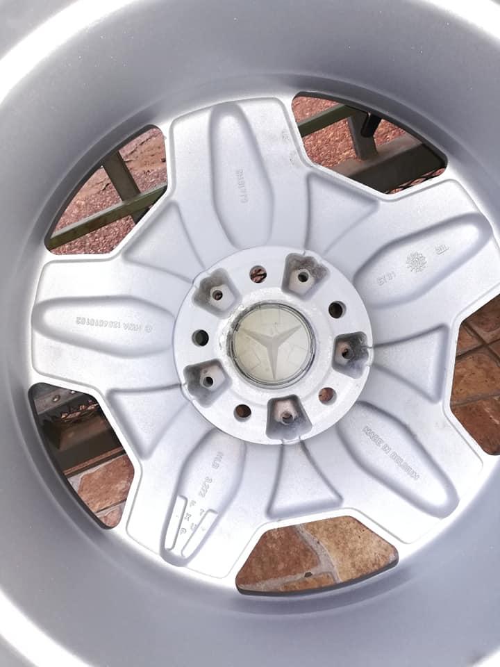 VENDO: Rodas 18' AMG Style II (ORIGINAIS)  36512412