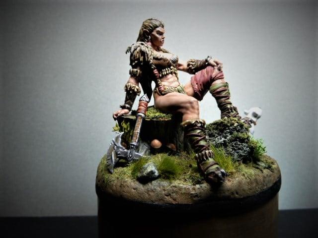 Guerrière barbare  12040410