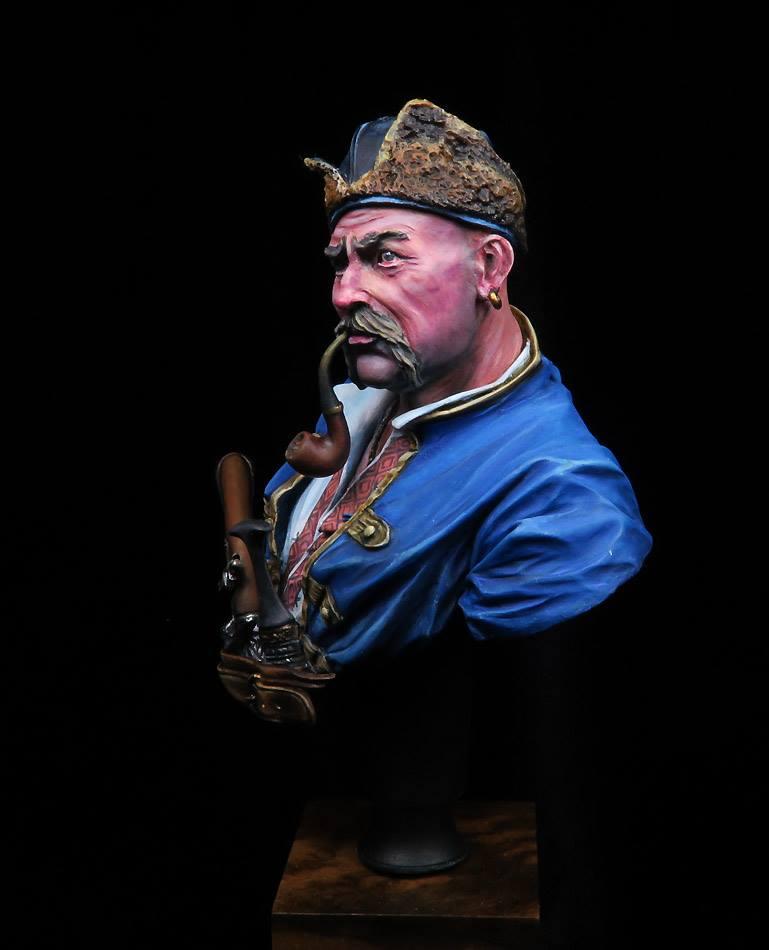 Buste d'un Cossack au 17 ème siècle . 74492210