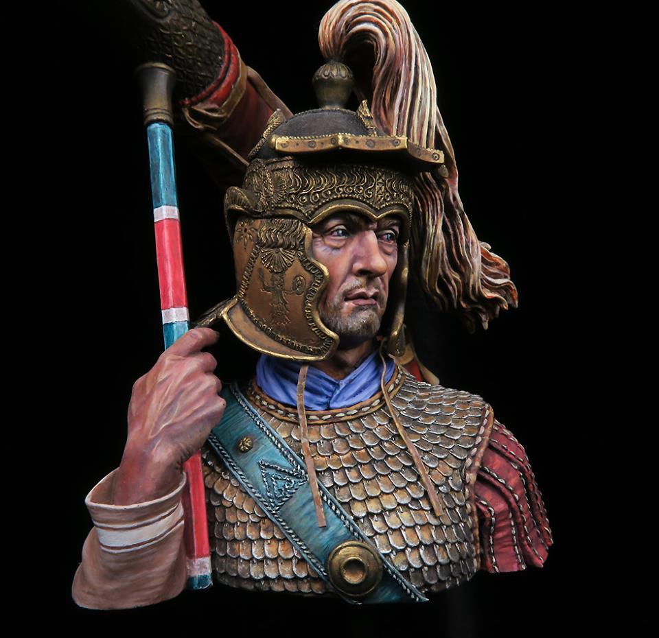 Draconarius du bas empire romain - buste Alexandros 74783311