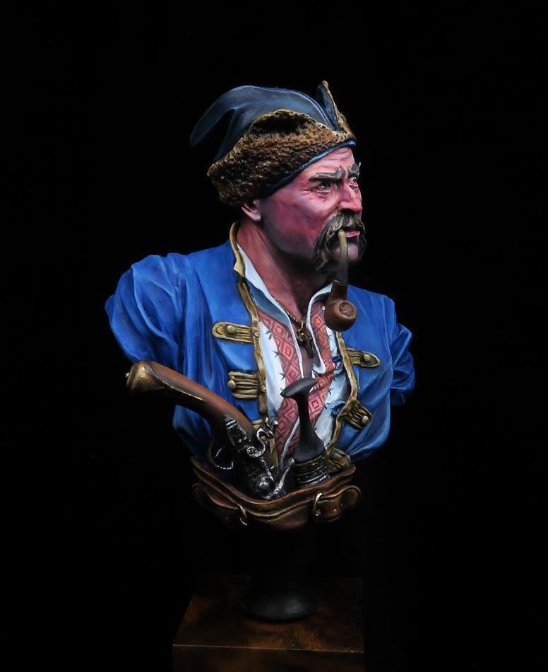 Buste d'un Cossack au 17 ème siècle . 75233910