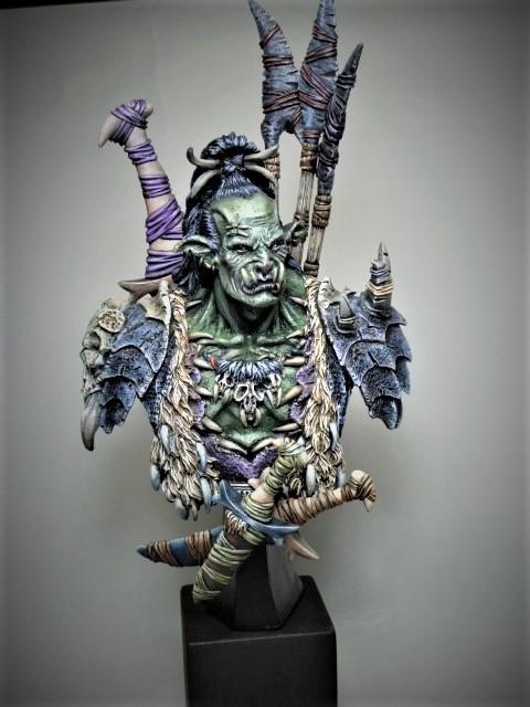 Buste de Orc de chez MJ MINIATURES  P1100110