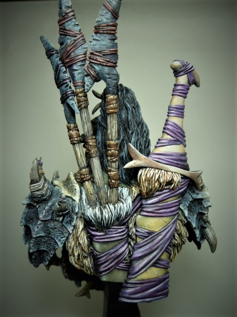 Buste de Orc de chez MJ MINIATURES  P1100111