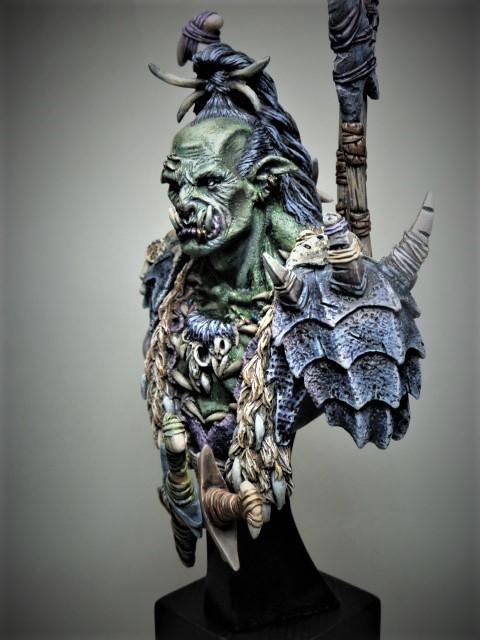 Buste de Orc de chez MJ MINIATURES  P1100112