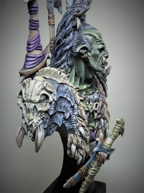 Buste de Orc de chez MJ MINIATURES  P1100113
