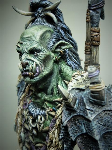 Buste de Orc de chez MJ MINIATURES  P1100211