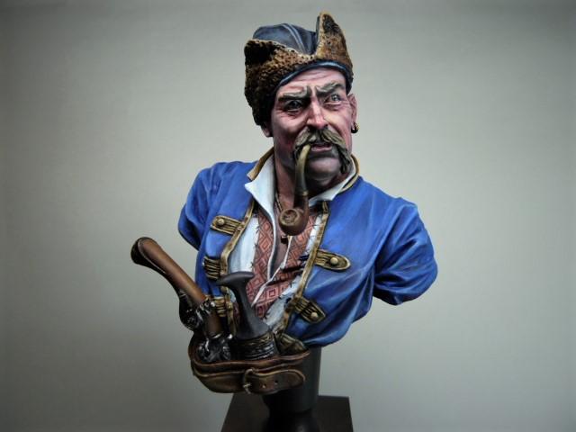 Buste d'un Cossack au 17 ème siècle . P1100418