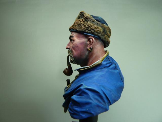 Buste d'un Cossack au 17 ème siècle . P1100421