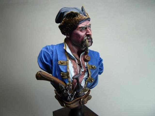 Buste d'un Cossack au 17 ème siècle . P1100422