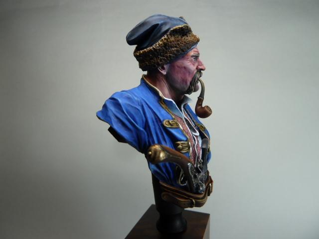 Buste d'un Cossack au 17 ème siècle . P1100424