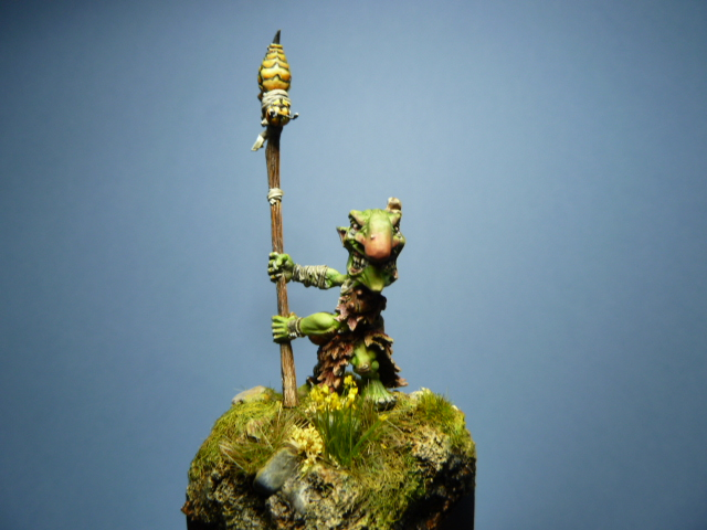 Morbag le Gobelin de chez Blacksmith Miniatures . P1100740