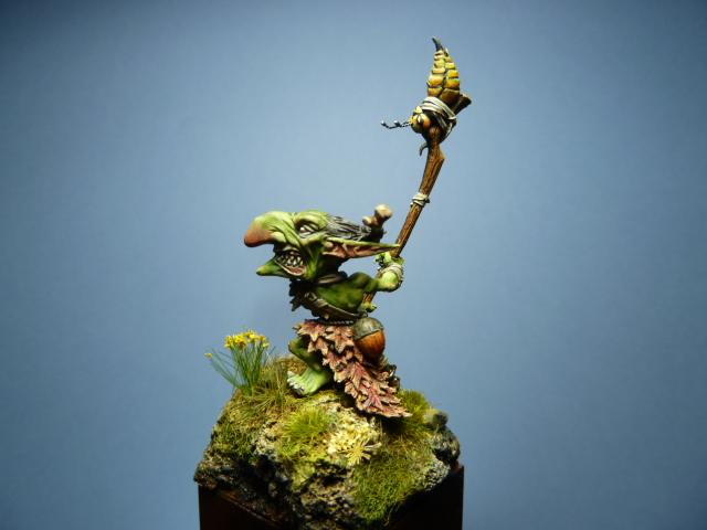 Morbag le Gobelin de chez Blacksmith Miniatures . P1100741