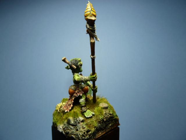 Morbag le Gobelin de chez Blacksmith Miniatures . P1100742