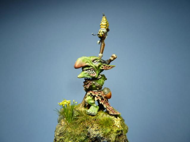Morbag le Gobelin de chez Blacksmith Miniatures . P1100810