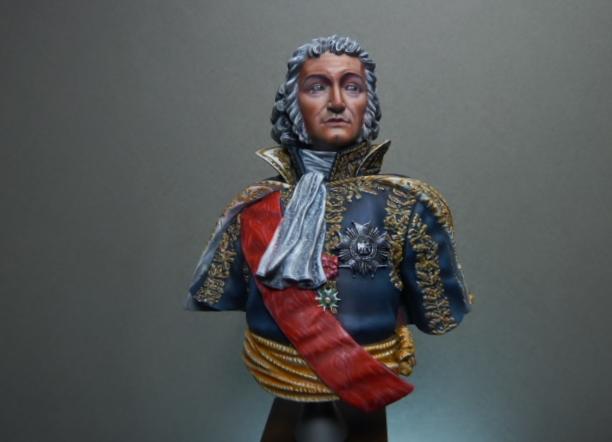 Maréchal AUGEREAU  buste au 1/9ème  P1100811
