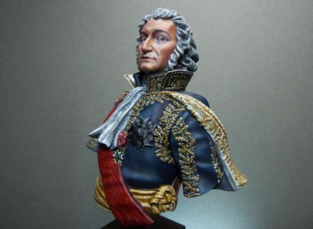 Maréchal AUGEREAU  buste au 1/9ème  P1100812