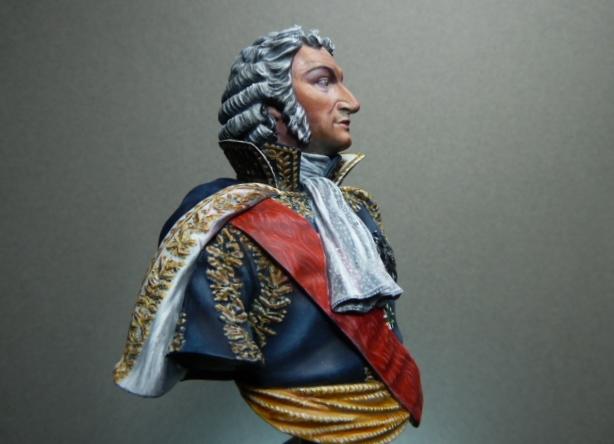 Maréchal AUGEREAU  buste au 1/9ème  P1100813