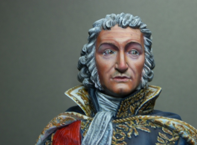 Maréchal AUGEREAU  buste au 1/9ème  P1100815