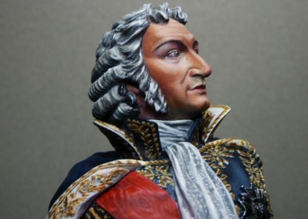 Maréchal AUGEREAU  buste au 1/9ème  P1100816