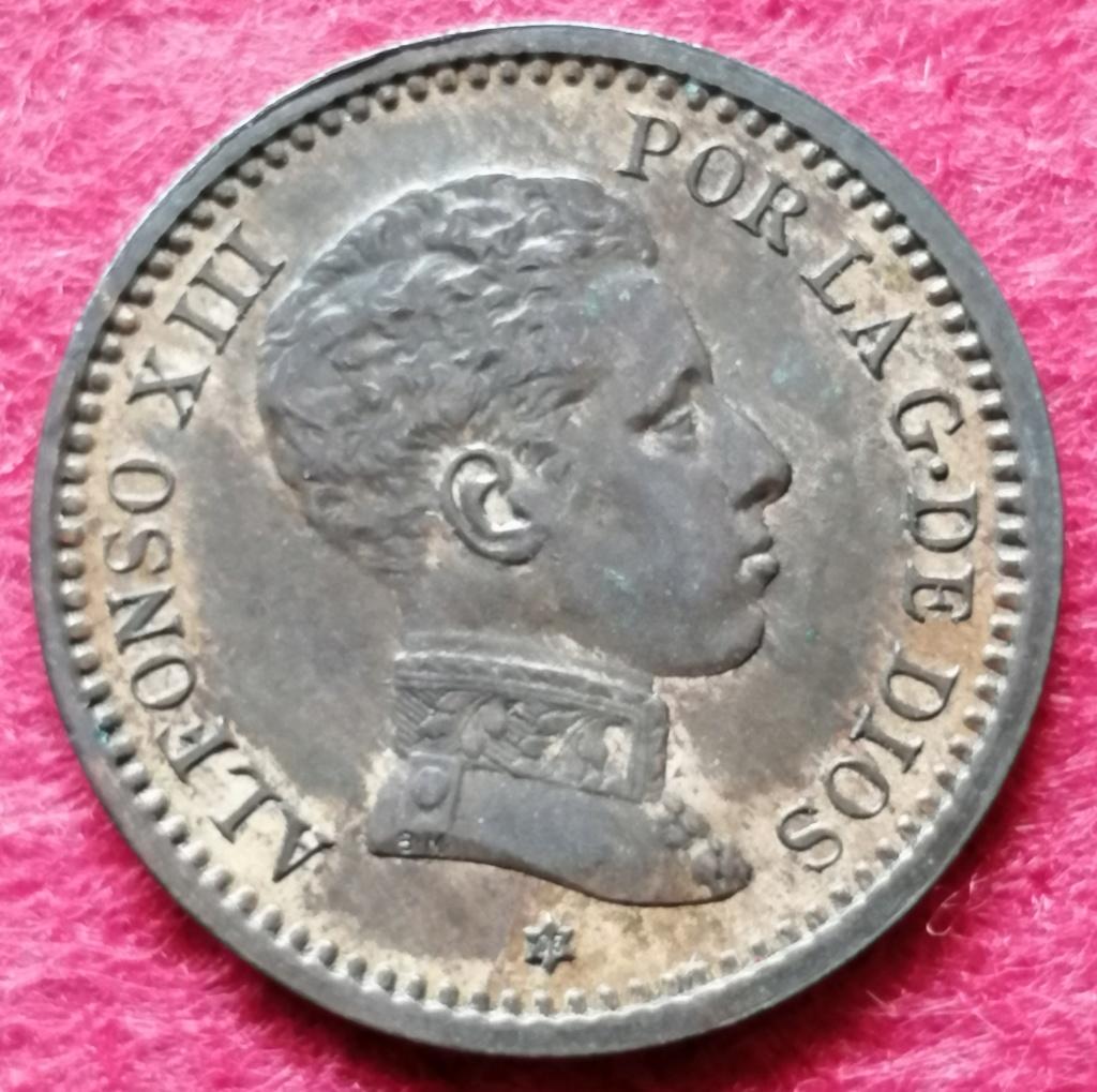 2 Céntimos 1905 (*05). Alfonso XIII. SM V  2_cent10