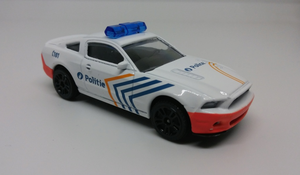 N°204A Ford Mustang police. 20190332
