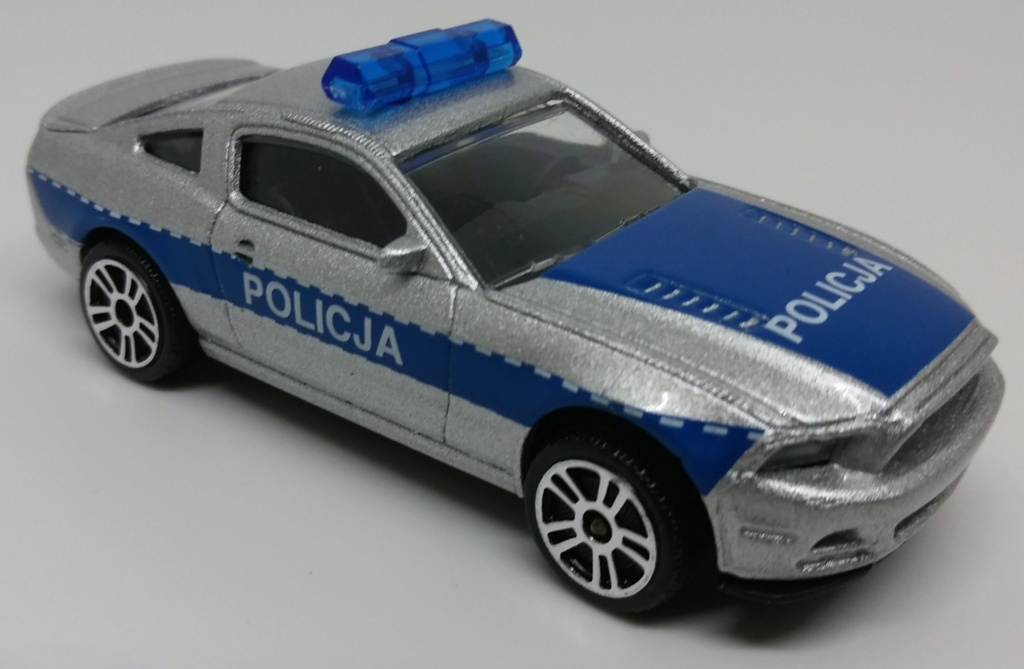 N°204A Ford Mustang police. Ford_m19