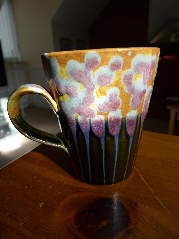 ID pottery stamp, mug - Dartington Pottery  May20112