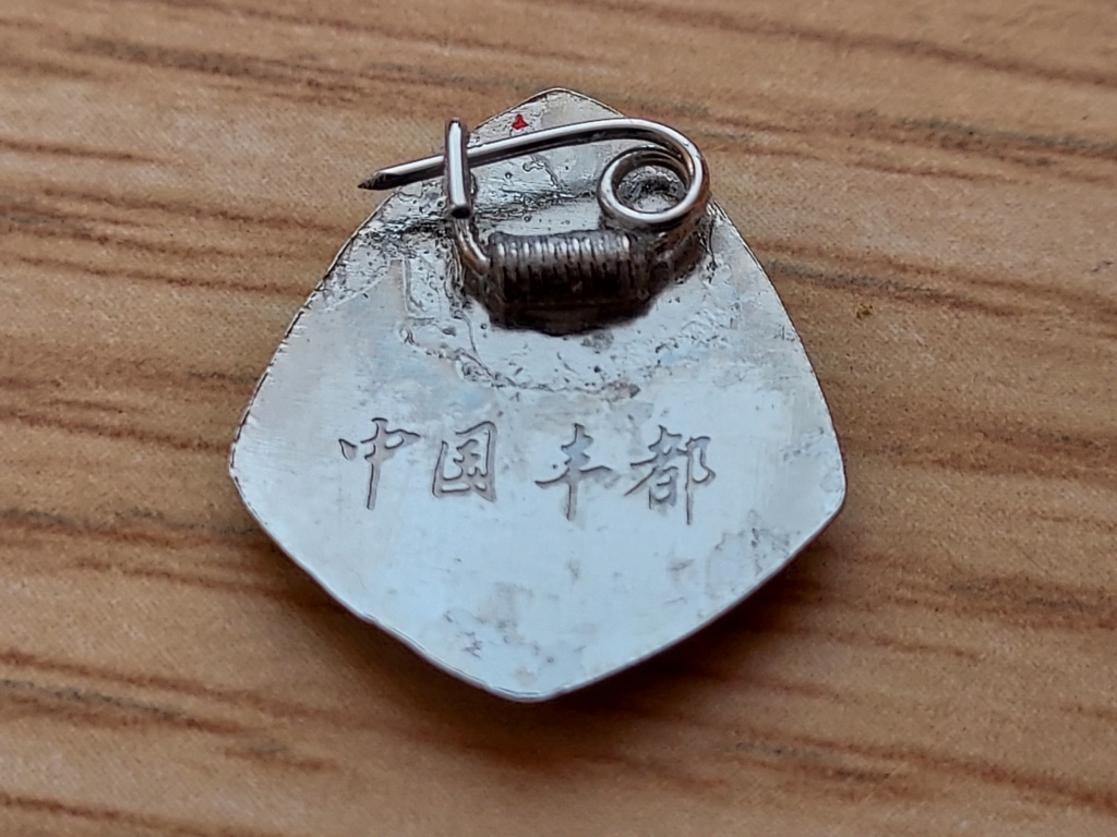 Petits insignes chinois. 20210368