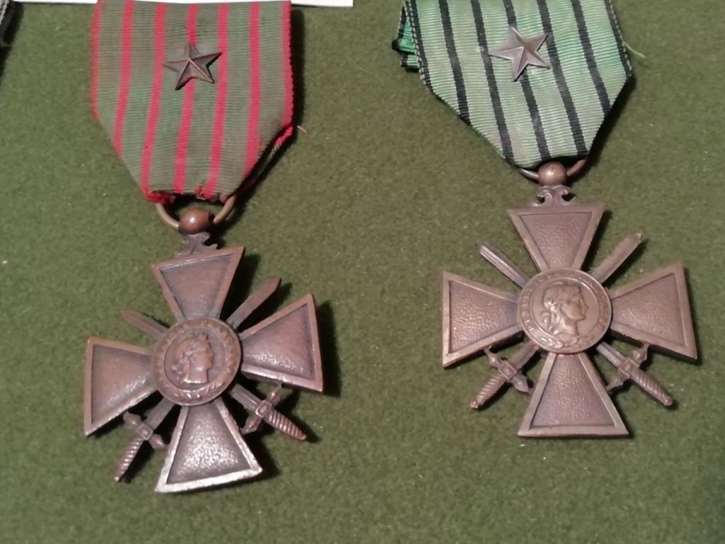Trouvaille médailles en cadre et autres.  Img_2310