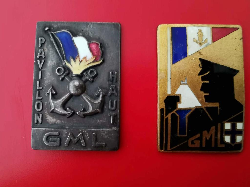 Rarissimes insignes des GML.  Recei140