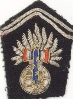 Patte de col Garde Maréchal Pétain Recei173