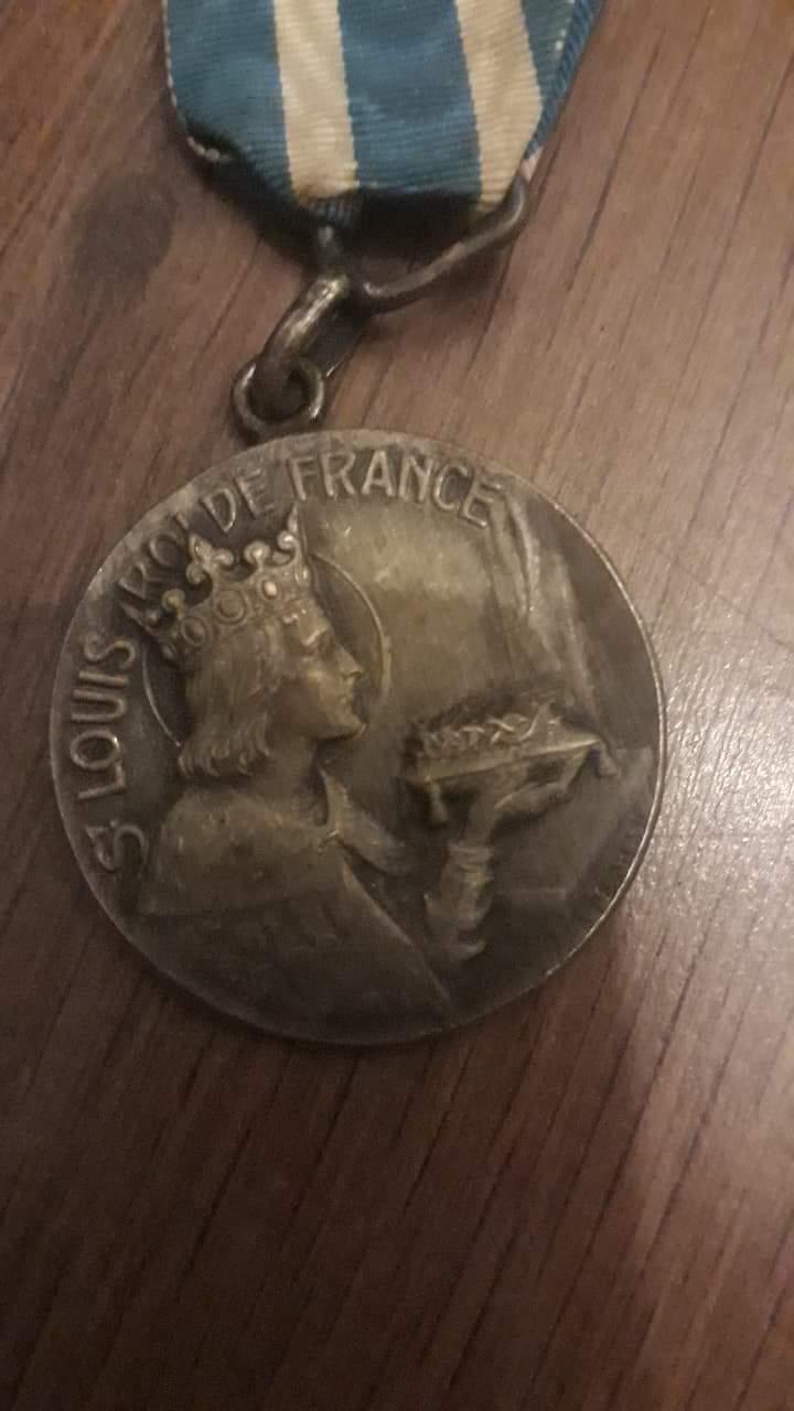 Médaille saint Louis...  Recei214