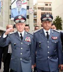 Insigne de col Gendarmerie Libanaise  Receiv14