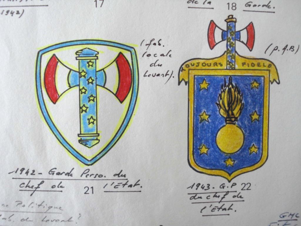 Insignes garde personnelle du chef de l'état 1942. Receiv68