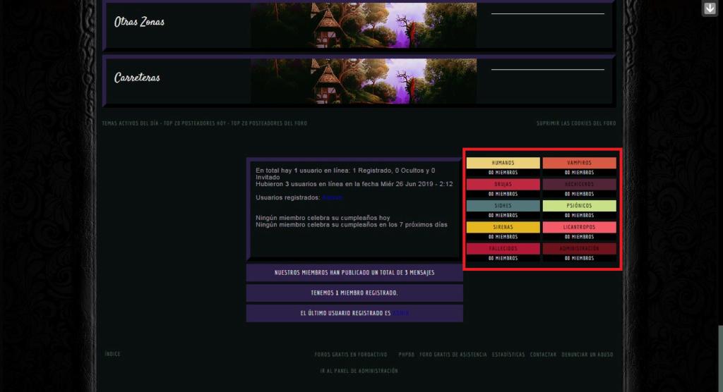 Cambiar el color de la leyenda de estadísticas (el grupo de usuarios) Sin_tz17