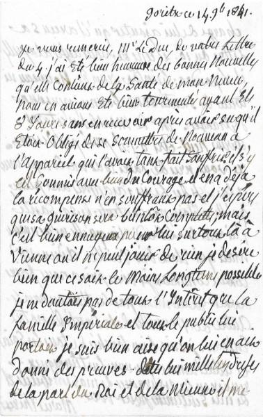 Ecrits de Marie Thérèse Charlotte, Madame Royale 1583-310