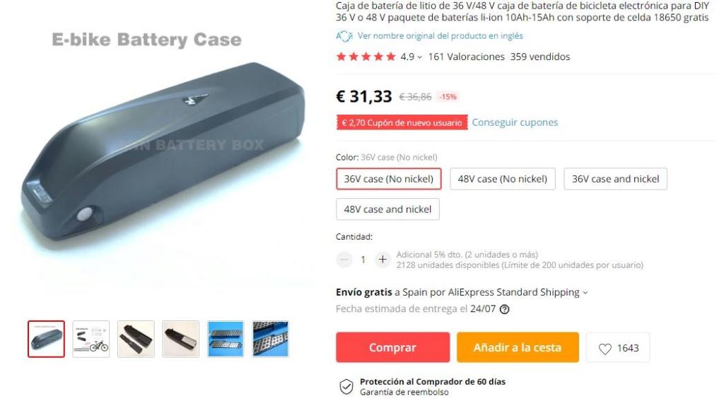 Batería plastificada compatible con carcasa? 1utb8210