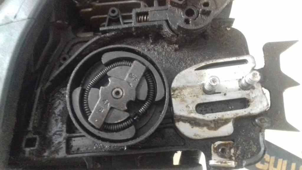 freno catena spenge la motosega mcculloch cs 340 20200611