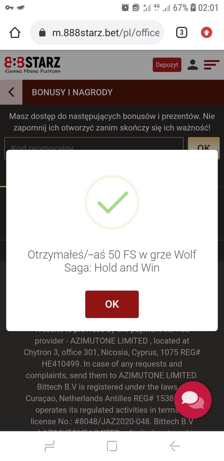 888starz kasyno online 50 darmowych spinów bez depozytu Screen31