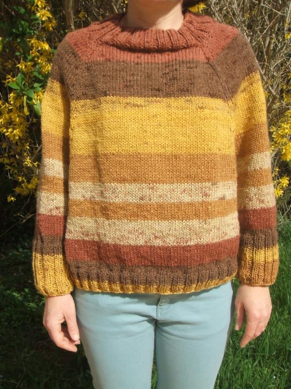 Poncho au tricot  Dscf4421