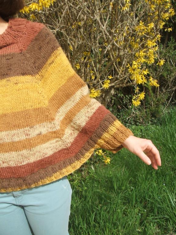 Poncho au tricot  Dscf4423