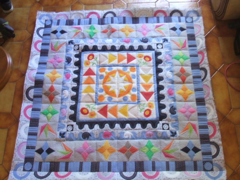 Medaillon quilt bloc 7  Dscf4518