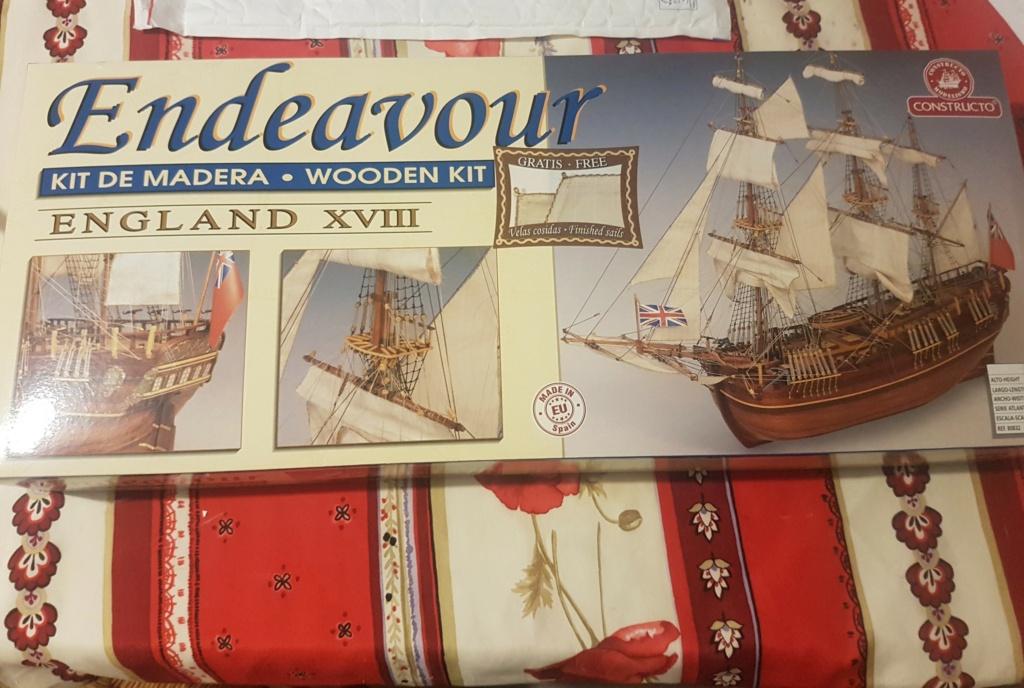 [VEND] Constructo Endeavour 1:60 et HMS Bounty 1:50 20201110